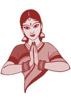 Kavita Garg sanskrit logo