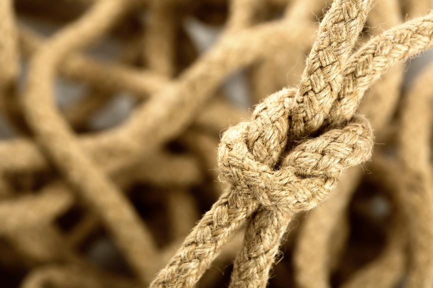 noeud karma corde