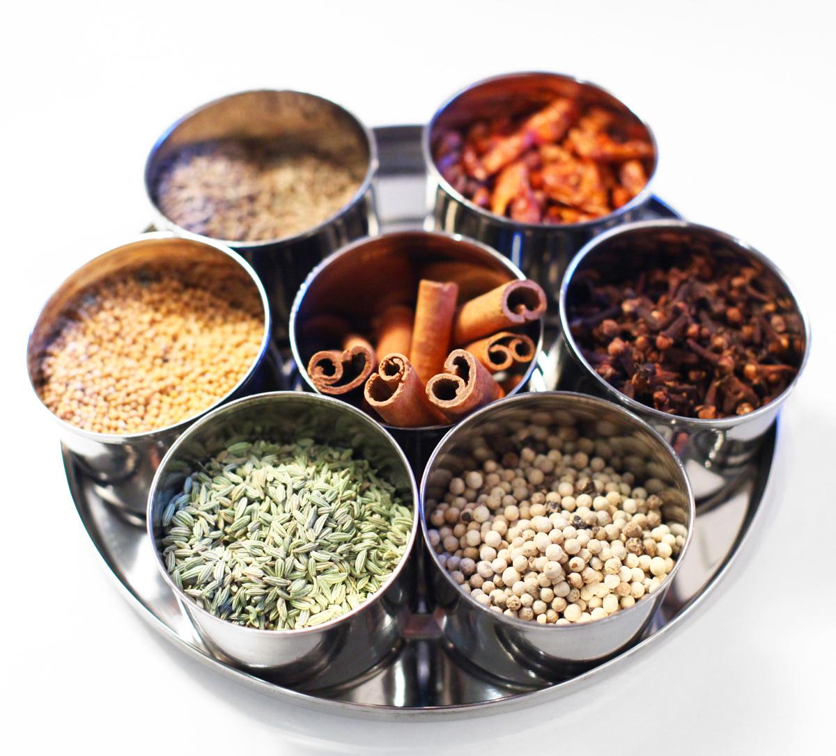 Listes Des épices : Potentiel des épices yoga vedas