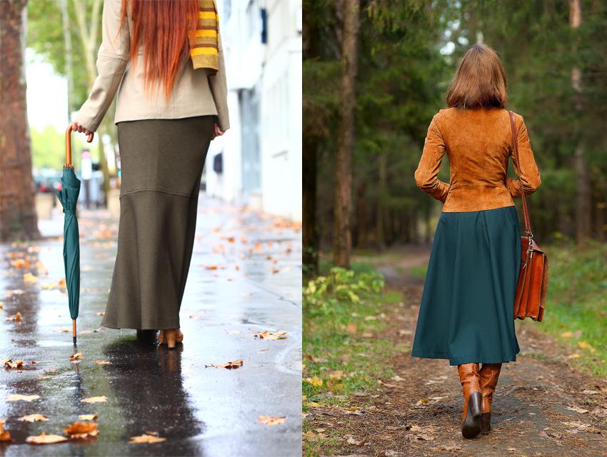 jupe automne