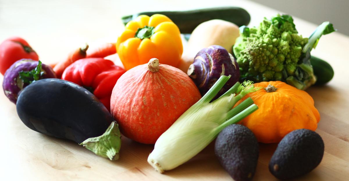 organic bio vegetables