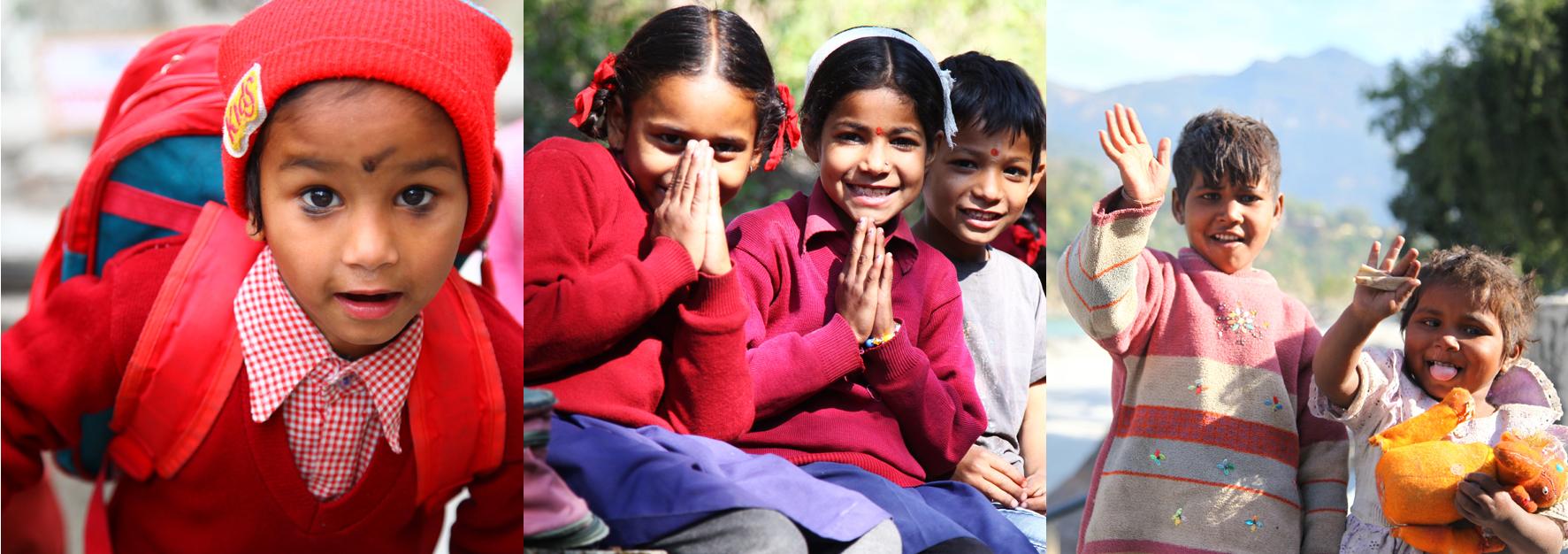 enfants inde yoga&vedas