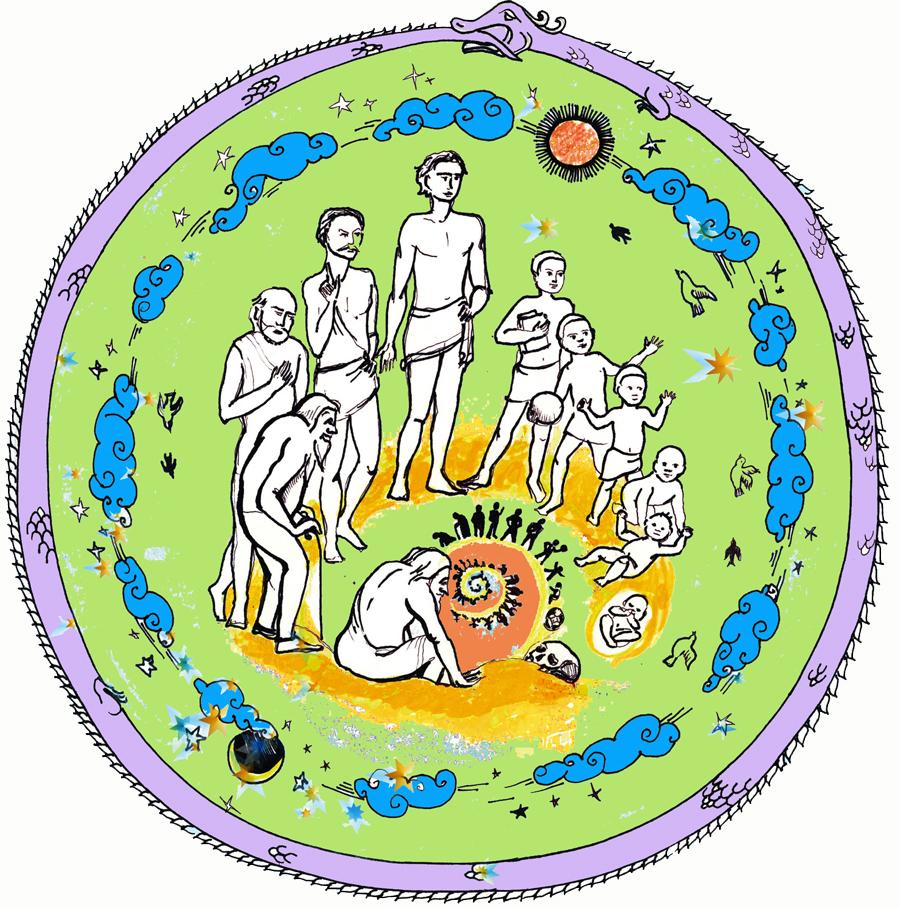 reincarnation color web yoga&vedas