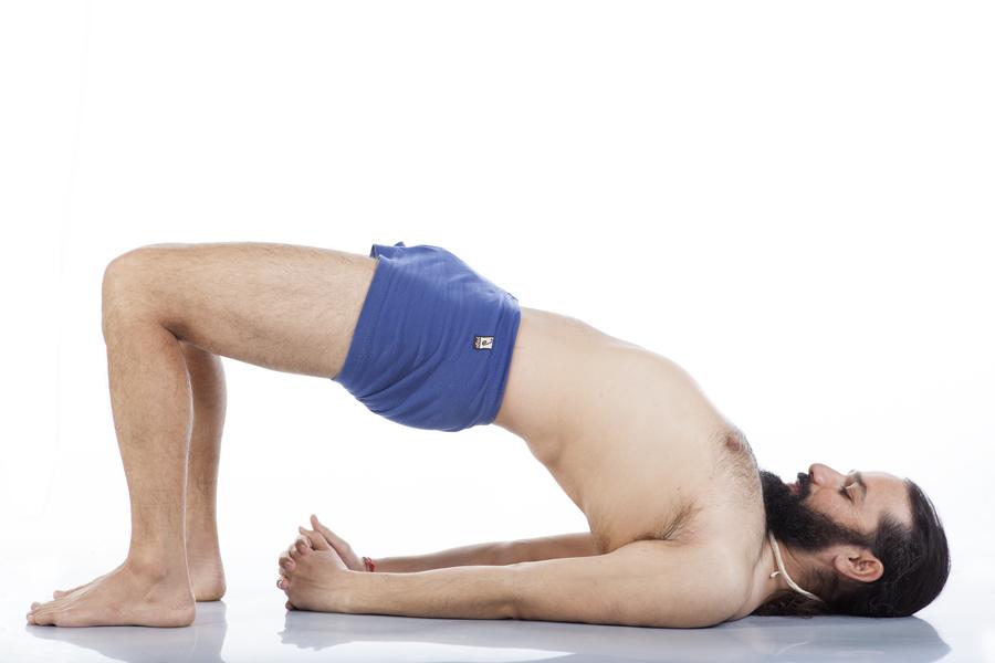 ardha setu bandhasana yoga&vedas
