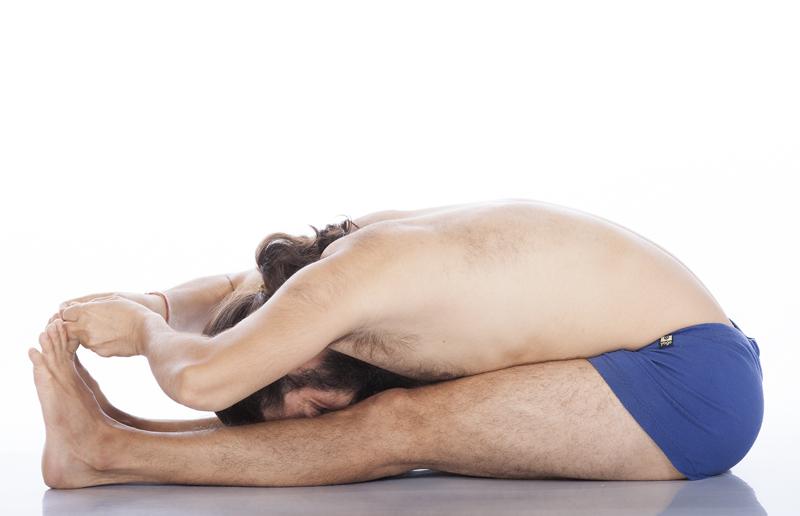 paschimottanasana yoga&vedas