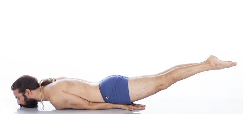 salabhasana yoga&vedas