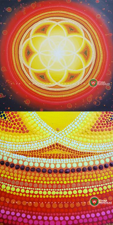 mandalas peinture syama yoga&vedas