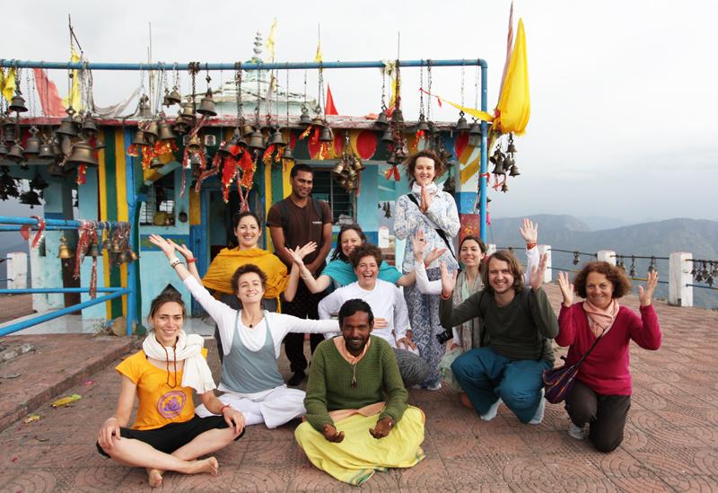 Yoga dans l'Himalaya avril 2015 _3web