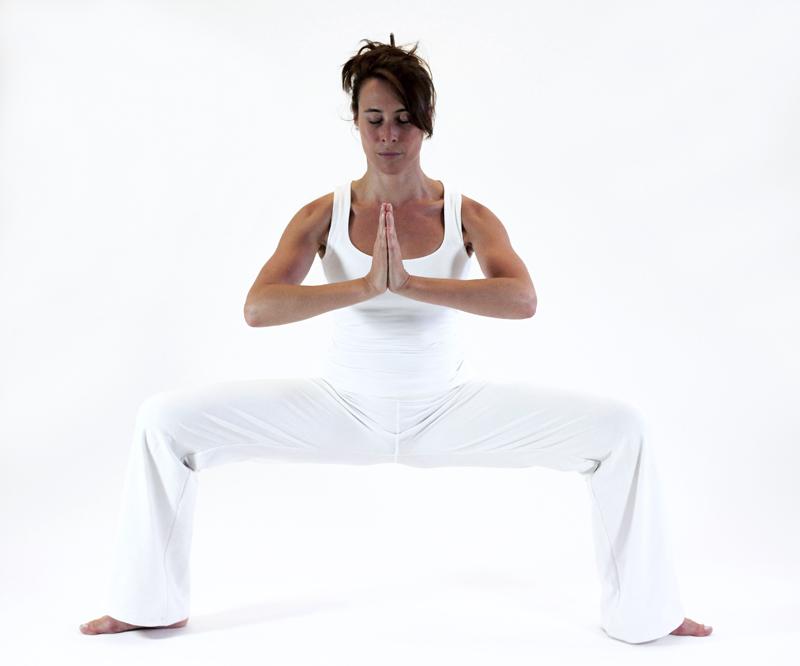 durgasana déesse ouverture bassin yoga&vedas