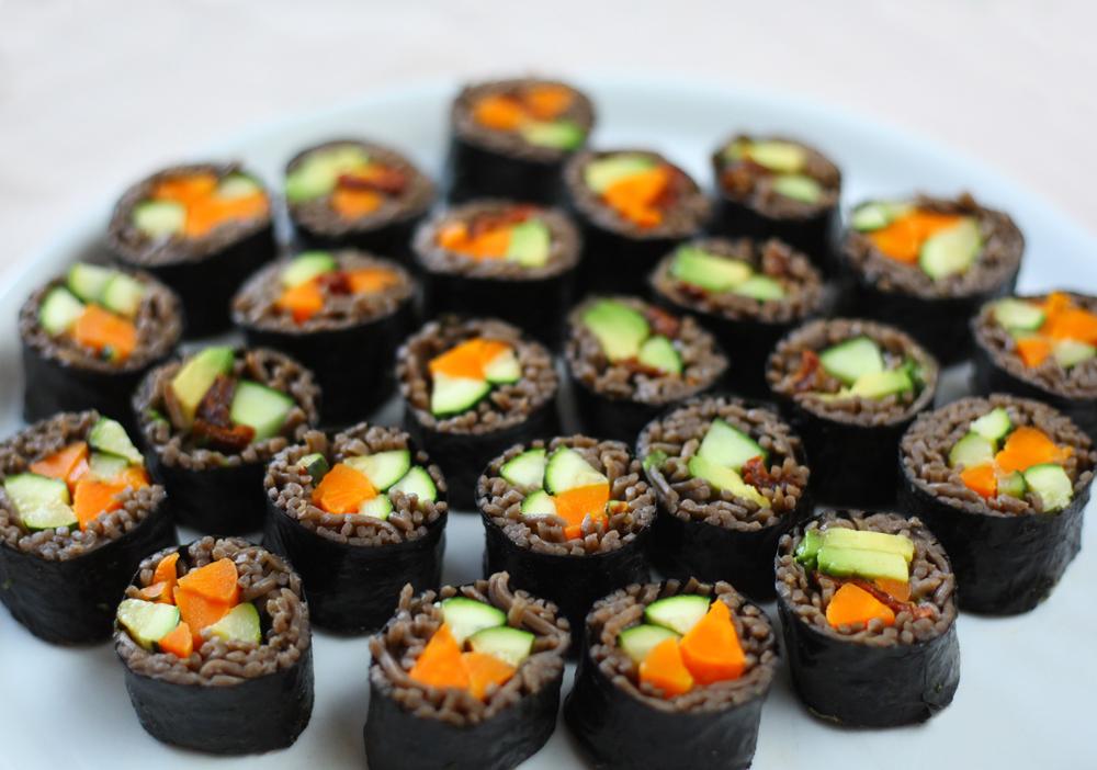 maki soba nouilles vegetarien legumes sarrasin bio
