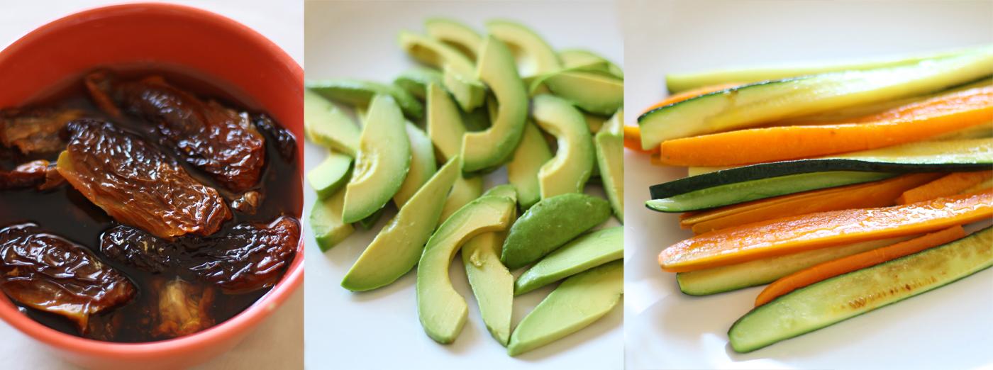 maki soba vegetarien legumes sarrasin