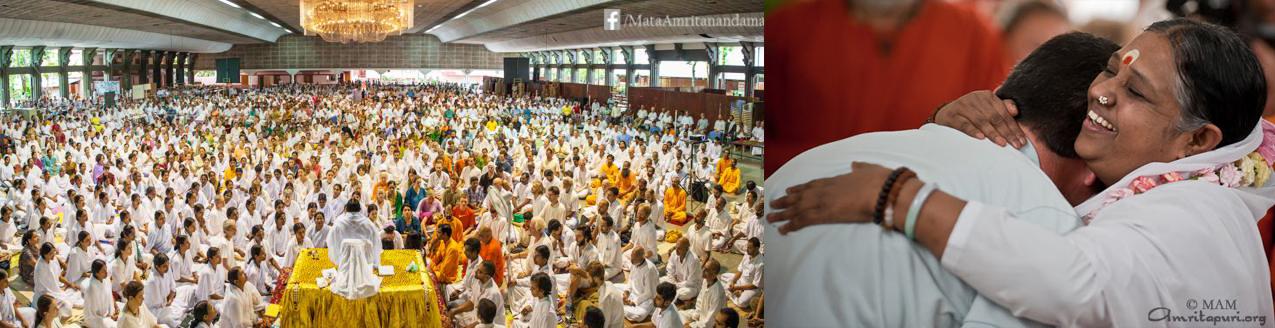 amritapuri amma kerala ashram love amour inde
