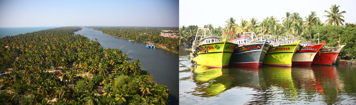 kerala retraite vacances backwaters