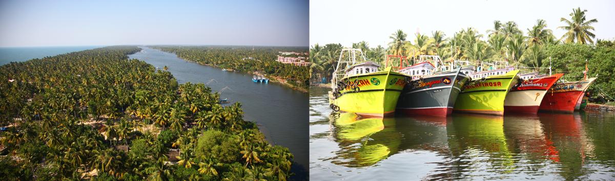 kerala retraite vacances backwaters