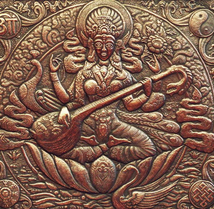 saraswati raga musique indienne yoga&vedas