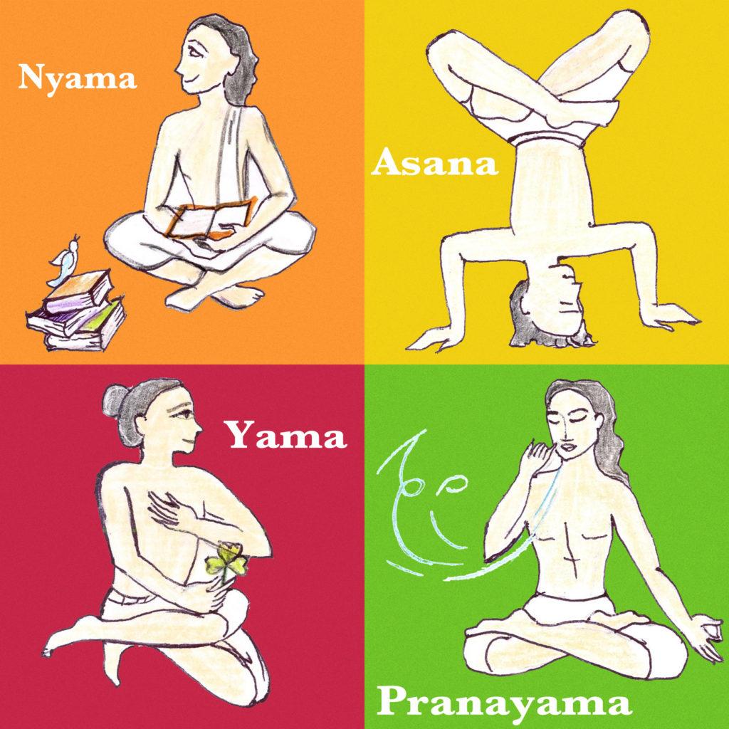 yama niyama asana pranayama